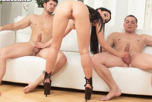 Maid For Double Penetration - Patty Michova (SiteRip/Scoreland/HD720p)