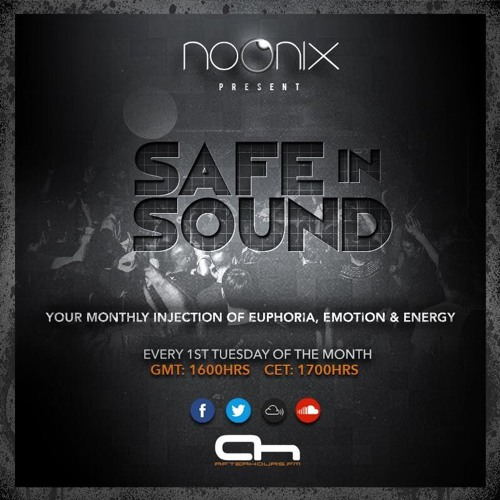 Noonix - Safe in Sound 070 (2017-11-07)