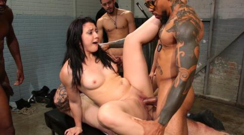 Gets Her Big Ripe Ass Bound Up and Gangbanged - Mandy Muse (SiteRip/Kink/SD540p)