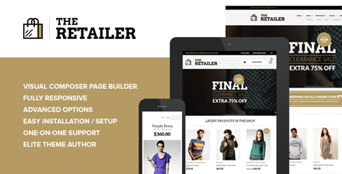 ThemeForest - The Retailer v2.8.4 - Premium WooCommerce Theme - 4287447
