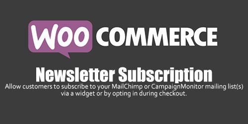 WooCommerce - Newsletter Subscription v2.3.12
