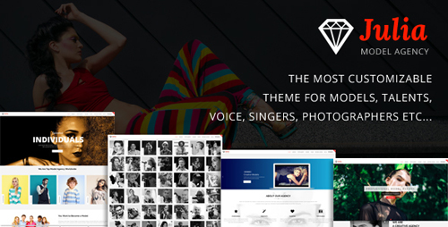 ThemeForest - Julia v1.7.6 - Talent Management WordPress Theme - 13291157