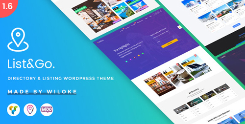 ThemeForest - ListGo v1.7.0.2 - Directory WordPress Theme - 20254260