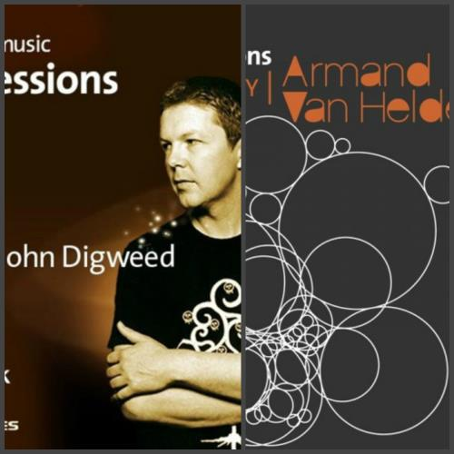 AOL Music DJ Sessions (Mixed By John Digweed & Armand Van Helden) (2005-2006)