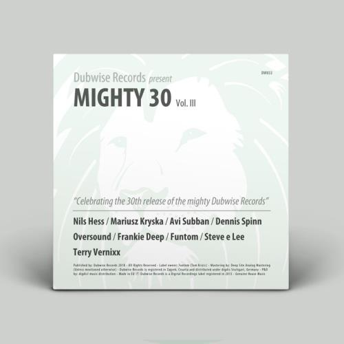 Dubwise Pres. Mighty 30, Vol. III (2019)