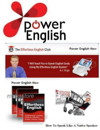 A.J. Hoge - Power English+CD