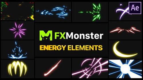 Energy Elements | After Effects 27597343