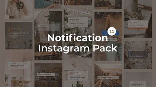 Notification Instagram Pack | Vertical and Square 27562957